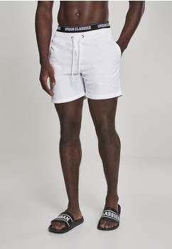 Urban Classics Two In One Swim Shorts Blk/blk/wht (TB2683-00863-0042) white/black/white