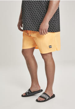 Urban Classics Block Swim Shorts (TB1026-00354-0037) neonorange