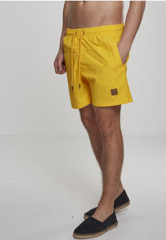 Urban Classics Block Swim Shorts (TB1026-01148-0046) chrome yellow