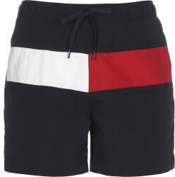Tommy Hilfiger Flag Regular Fit Mid Length Swim Shorts (UM0UM02055) desert sky