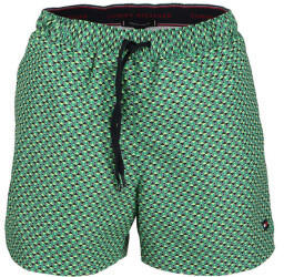 Tommy Hilfiger Geometric Print Mid Length Swim Shorts hil th geo primary green (UM0UM02091)