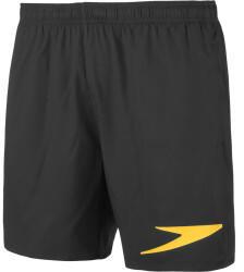 "Speedo Sport Solid 16"" Swim Shorts (11444D) black/mango"