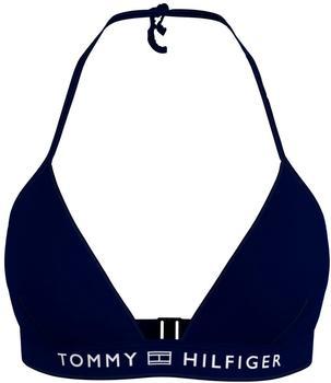 Tommy Hilfiger Padded Triangle Bikini Top desert sky (UW0UW02708-DW5)