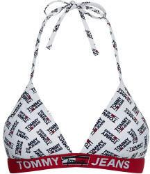 Tommy Hilfiger Logo Underband Triangle Bikini Top jeans white (UW0UW02938)