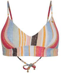 ONeill Wave Bikini-Top yellow AOP/red