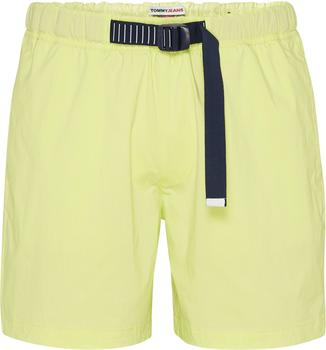 Tommy Hilfiger Belted Beach Shorts (DM0DM10134) faded lime