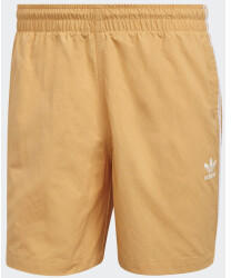 Adidas Adicolor Classics 3-Stripes Swim Shorts Hazy Orange (GN3525)