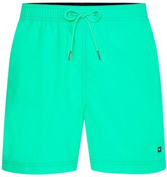 Tommy Hilfiger Slim Fit Mid Length Swim Shorts (UM0UM02041) florid mint