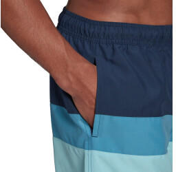 Adidas Block CLX Short Length Shorts (GM2217) crew navy/haze sky