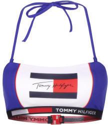 Tommy Hilfiger Colour-Blocked Signature Bandeau Bikini Top cobalt (UW0UW02175C65)