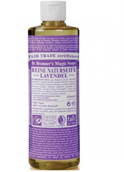 Dr. Bronner's Flüssigseife Lavendel (236ml)