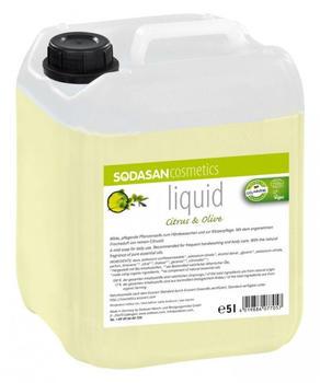 Sodasan Flüssigseife Citrus-Olive (5 Liter)
