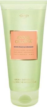4711 Acqua Colonia White Peach & Coriander Aroma Shower Gel (200ml)