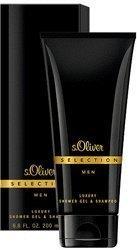 S.Oliver Selection Men Luxury Shower Gel & Shampoo (200 ml)