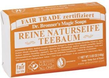 Dr. Bronner's Stückseife Teebaum (140g)