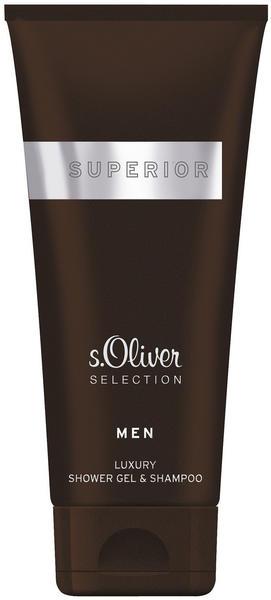 S.Oliver Selection Superior Men Shower Gel & Shampoo (200 ml)