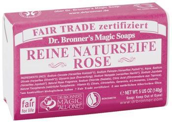 Dr. Bronner's Stückseife Rose (140g)