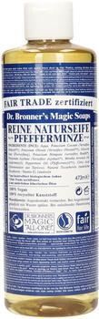 Dr. Bronner's Flüssigseife Pfefferminze (473ml)