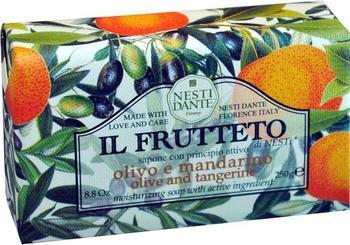 Nesti Dante Il Frutteto Olive & Tangerine Stückseife (250 g)