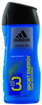 Adidas Sport Energy 3in1 Shower Gel (250 ml)