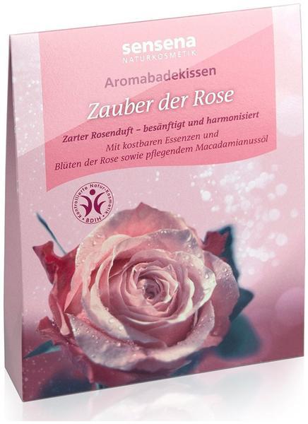 Sensena Aromabadekissen Zauber der Rose (60 g)