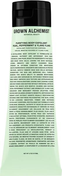 Grown Alchemist Pearl, Peppermint & Ylang Ylang Körperpeeling (170 ml)