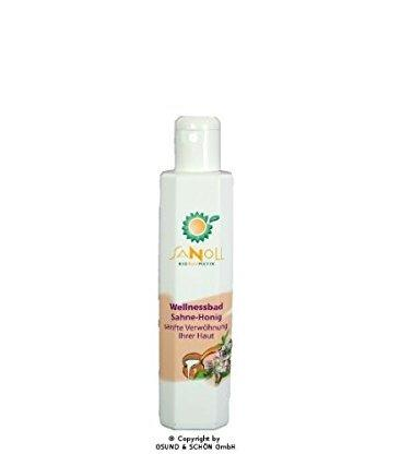 Sanoll Biokosmetik Wellnessbad Sahne-Honig ( 200 ml )