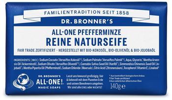 Dr. Bronner's Stückseife Pfefferminze (140g)