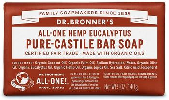 Dr. Bronner's Stückseife Eukalyptus (140g)