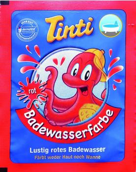 Tinti Badewasserfarben rot