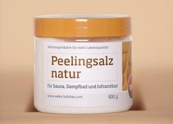 Weka Peelingsalz Natur (500g)