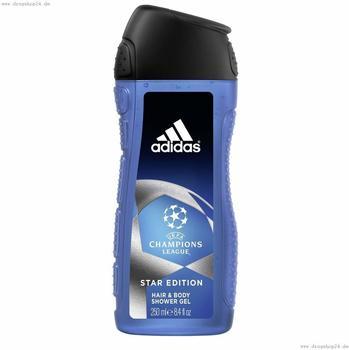 Adidas Champions League Star Shower Gel (250ml)