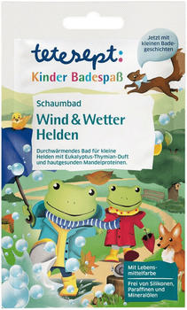 Tetesept Kinder Schaumbad Wind & Wetter Helden (40 ml)
