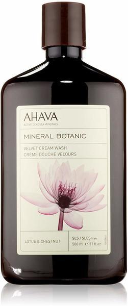Ahava Mineral Botanic Velvet Cream Wash Lotus & Chestnut Duschgel (500ml)