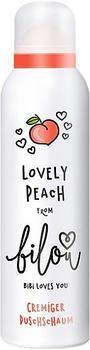 Bilou Lovely Peach cremiger Duschschaum (200ml)