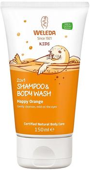 Weleda Kids 2in1 Shower & Shampoo Fruchtige Orange (150ml)