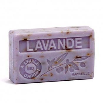 Maison du Savon Bio Arganöl Seife Lavande Broyee (100g)
