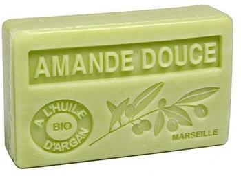 Maison du Savon Bio Arganöl Seife Amande Douce (Süße Mandel) (100g)