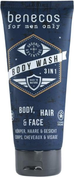benecos For Men Only Body Wash 3in1