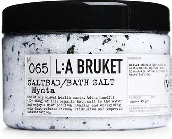 L:A Bruket Mint No. 65 Bath Salt (450g)