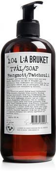 L:A Bruket Bergamot Patchouli No. 104 Liquid Soap (450ml)