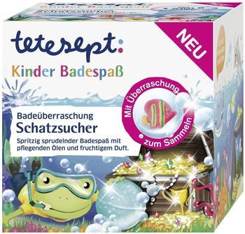 Tetesept Kinder Badespaß Badeüberraschung Schatzsucher (140g)