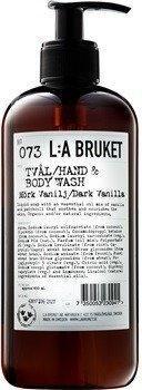 L:A Bruket Dark Vanilla No. 73 Liquid Soap (450ml)