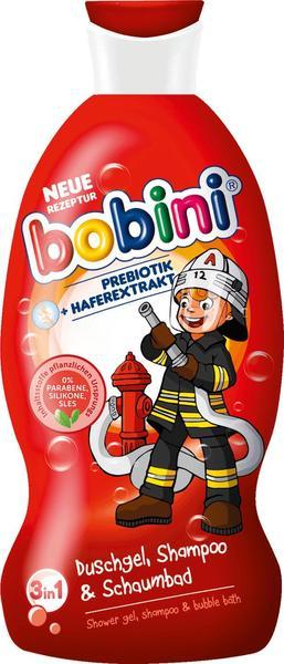 Bobini 3in1 Duschgel, Shampoo & Schaumbad Mutiger Held (330ml)