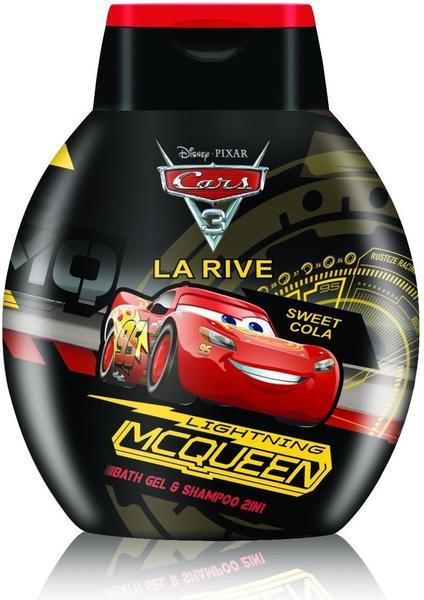 La Rive Disney Cars Lightning McQueen Duschbad & Shampoo 2in1 (250ml)