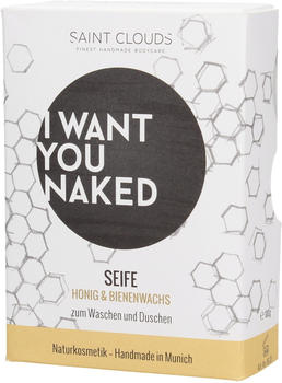 I Want You Naked Dusch-Seife Honig & Bienenwachs (100g)