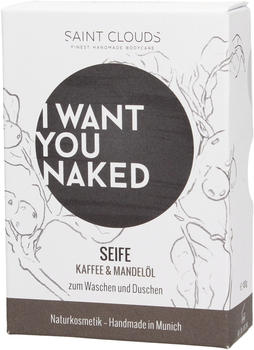 I Want You Naked Dusch-Seife Kaffee & Mandelöl (100g)