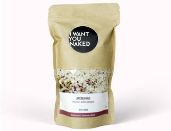 I Want You Naked Aroma-Bad Meersalz Rose & Hibiskus Refill (580g)