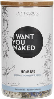 I Want You Naked Aroma-Bad Meersalz Brennnessel & Ingwer (620g)