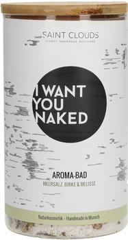 I Want You Naked Aroma-Bad Meersalz Birke & Melisse (620g)